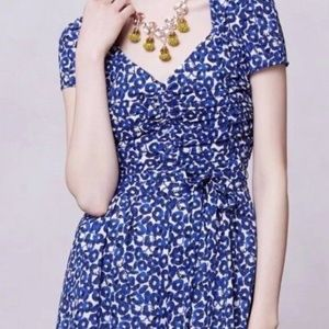 Anthropologie LEIFNOTES Drafted Petals Romper